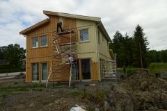 Målning av villa