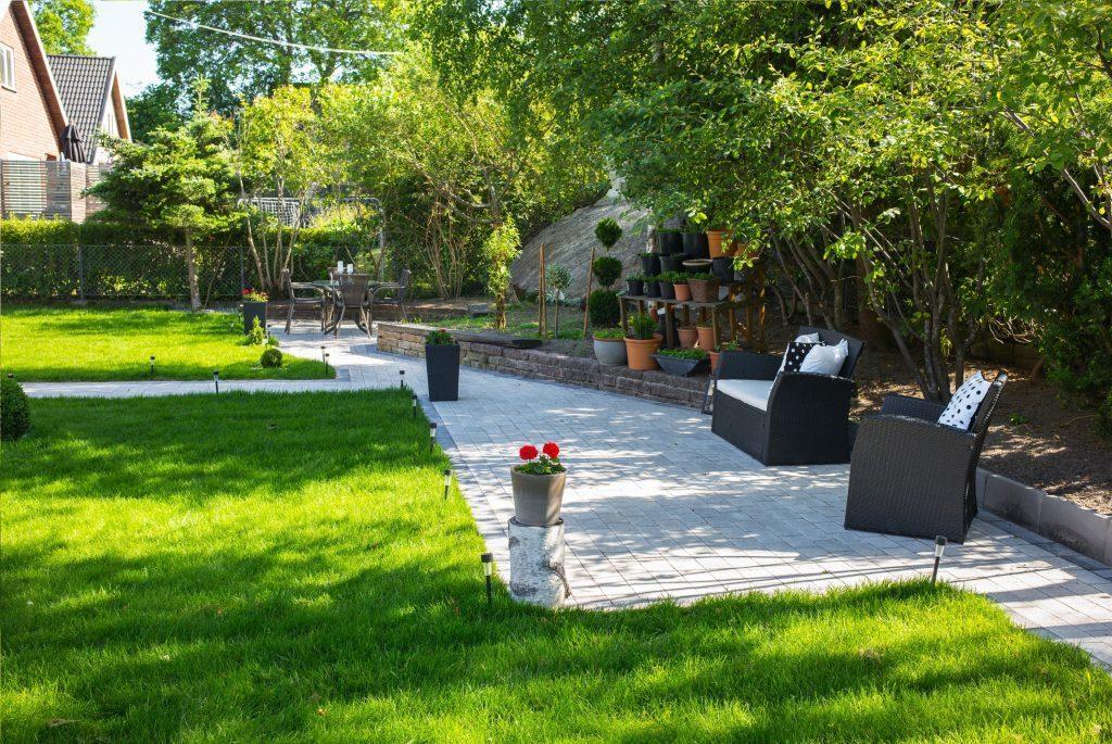 Trädgårdsdesign kostnad