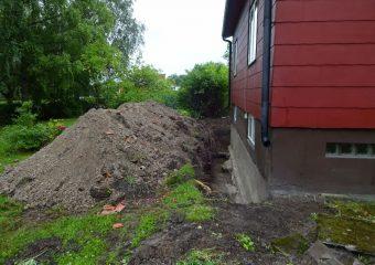 Dränering och isolering i Knivsta