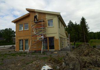 Målning av huset
