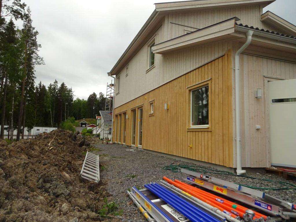 Fasadarbete i Stockholm
