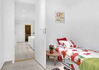 Sovrum och hall renovering