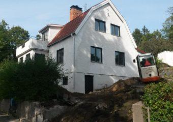 Dränering i Älvsjö