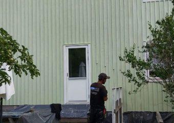 Fasadmålning Stockholm